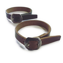25¢ Buckle Leather Bracelet